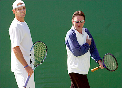 Roddick and Connors