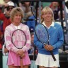 Chris Evert, Martina Navratilova