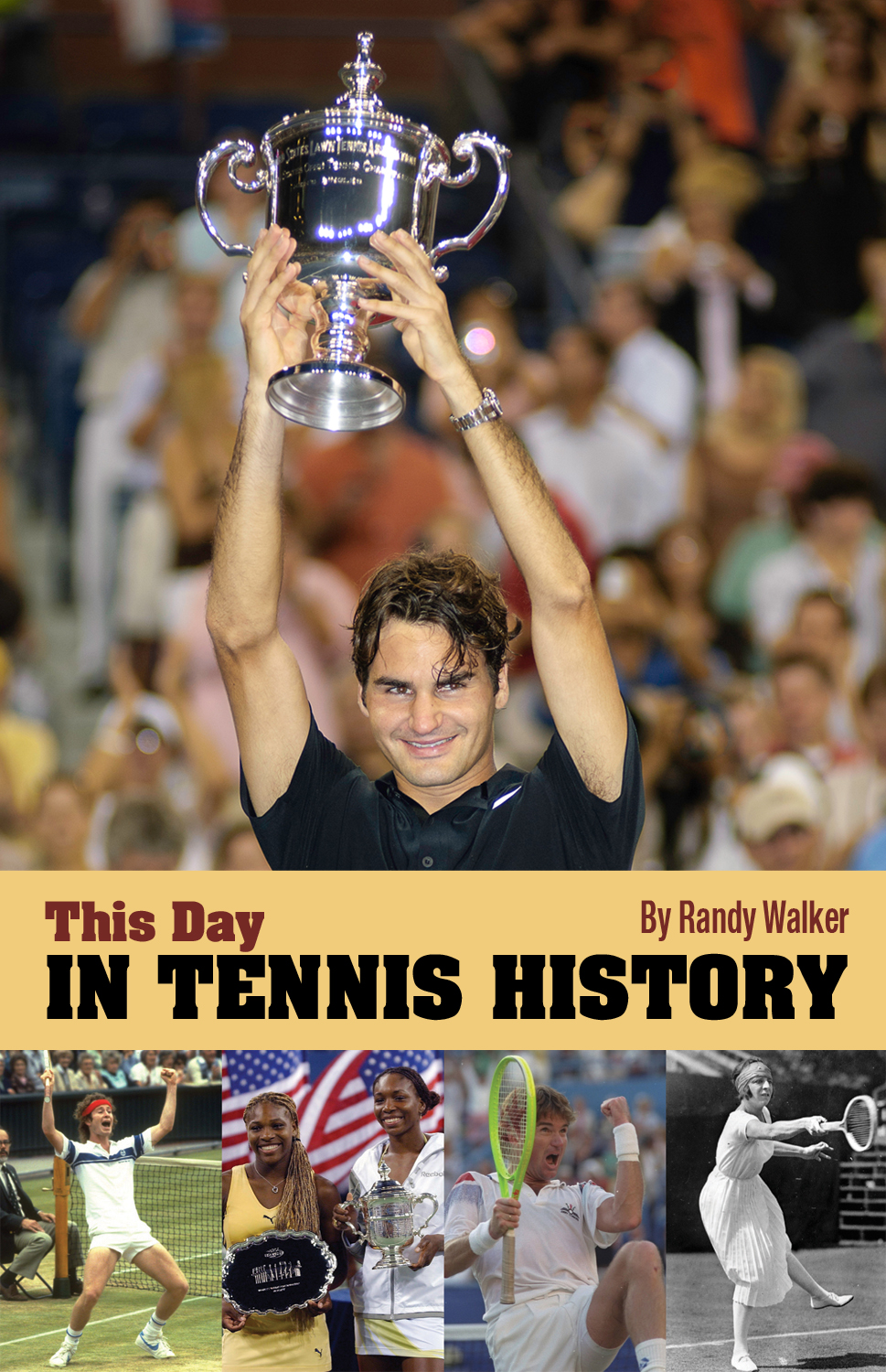"""This Day In Tennis History"" Mobile App Now For Sale In Advance of French Open, Wimbledon"