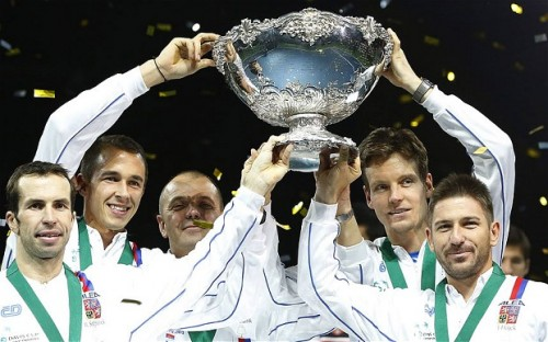 Radek Stepanek, Czech Republic Repeat Winning Ways in Davis Cup - Mondays with Bob Greene