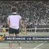 John McErnoe vs. Jimmy Connors