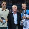 Roger Federer, Rod Laver, Lleyton Hewitt