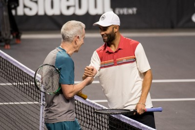 Blake Beats McEnroe For Second Straight Night To Win In Sacramento