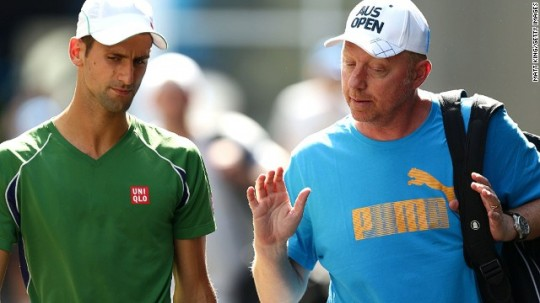 "Marian Vajda On Boris Becker In Monte Carlo: ""Boris Didn't Use Good Tactics Today"""