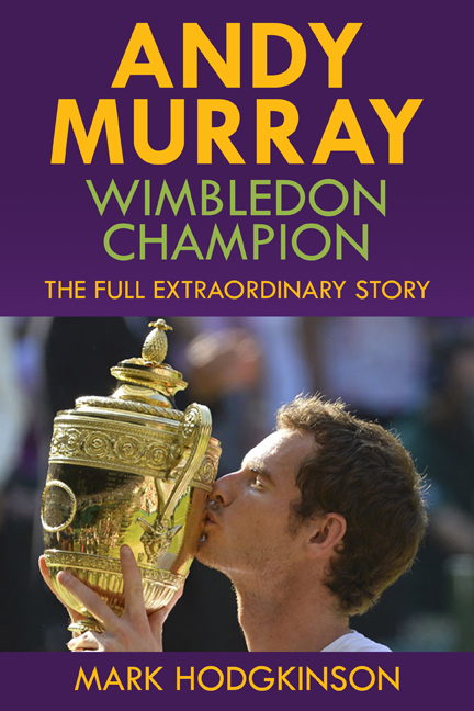 "A British Wimbledon Men's Champion Is No April Fool's Joke – Read About It In ""Andy Murray: Wimbledon Champion"""