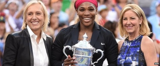 "Comparing Serena Williams With Fellow ""18″ Club Members Chris Evert and Martina Navratilova (As Well As Steffi Graf)"