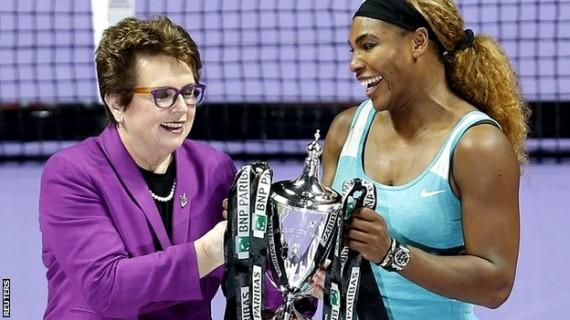 Big Loss Spurs Serena Williams To WTA Title – Mondays with Bob Greene