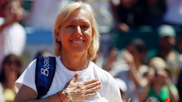 Martina Navratilova, Justin Gimelstob Join Coaching Ranks – Mondays with Bob Greene