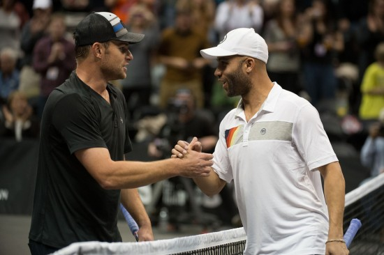 Andy Roddick, James Blake and Jim Courier Talk PowerShares Series, USTA Player Development, Roger Federer and Ferguson