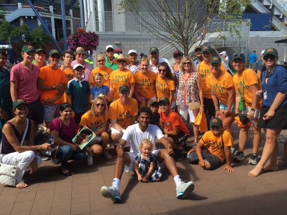 "Former Greenwich Tennis Teaching Pro ""Saki"" Myneni of India Qualifies For 2016 US Open Main Draw"