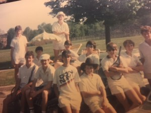 1986 New Canaan High School Tennis Team