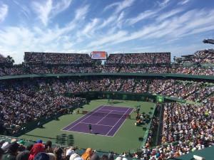 Roger Federer vs. Juan Martin del Potro at the Miami Open