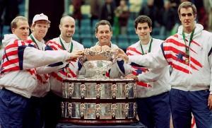 The 1995 U.S. Davis Cup team