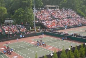 NCAA Tennis Tournament in Athens, Georgia