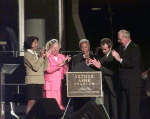 Ashe Stadium Ceremony