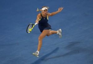 Caroline Wozniacki Running Forehand